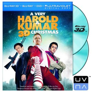 A Very Harold &amp; Kumar Christmas (Two-Disc Blu-ray 3D / Blu-ray / DVD / UltraViolet Digital Copy)