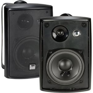Dual LU43PB Indoor/Outdoor Speakers (Black)