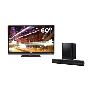 "Sharp AQUOS 60"" Class HD 1080p 240Hz 3D-LED TV with WiFi and Soundbar and Wireless Subwoofer"