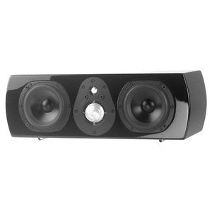 NHT Classic TwoC Center Channel Speaker (Black, Single)