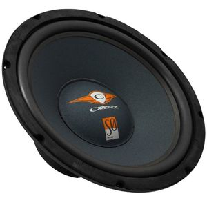 Cadence Acoustics S0W10-S4 400 Watt Peak 10-Inch Single Voice Coil 4 Ohm SQ Subwoofer