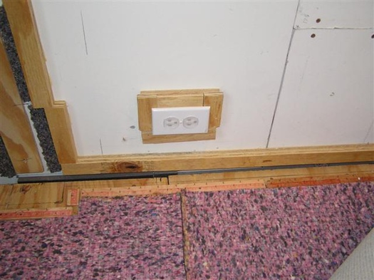 Carpeting Without Baseboard Method What I Did AVS
