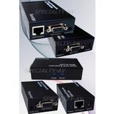 Active VGA Video Stereo Audio BALUN Extender Kit over Cat5/6 UTP, Includes Sender & Receiver