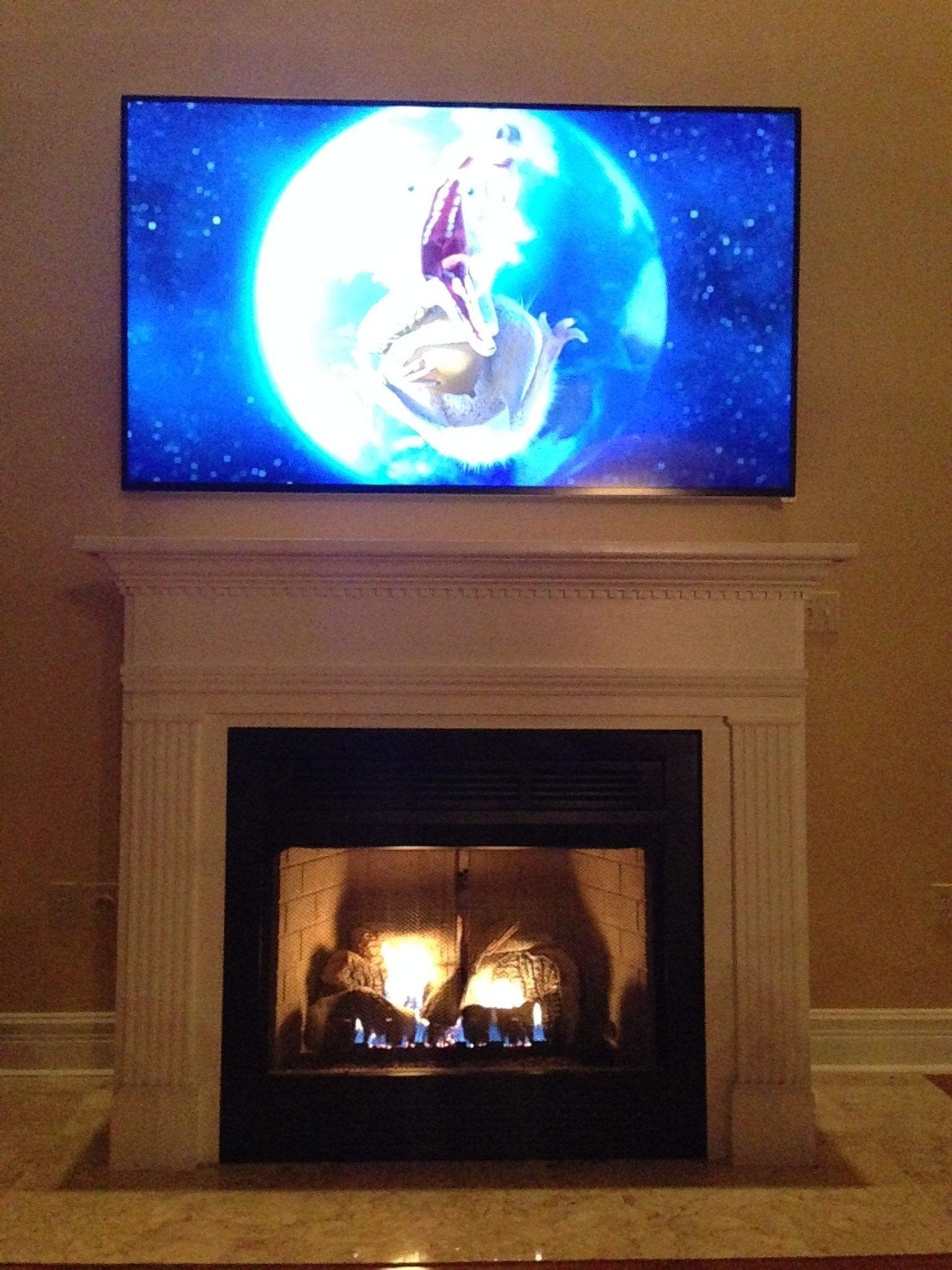 Tv Above Fireplace Mounting Dilemma Need A Tv Mount That