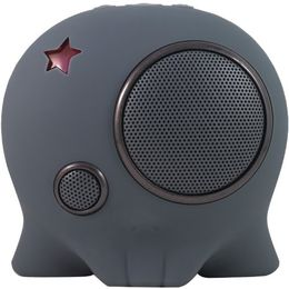 Boombotix Boombot2 Portable Weatherproof Bluetooth Wireless Speaker (Gunmetal Grey)