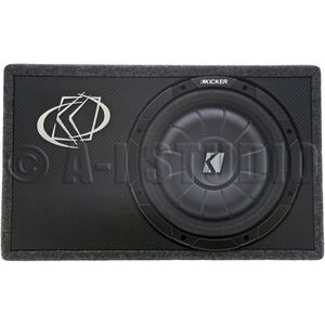 Kicker 10tcvt122 Tcvt12 Single Comp. 12 Sub 2ohm