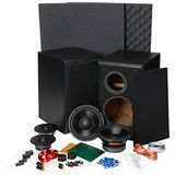 Dayton Audio BR-1 6-1/2 inch 2-Way Bookshelf Monitor Speaker Kit Pair