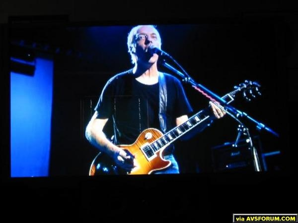 Peter Frampton: Live in Detroit DVD...shot in HD anamorphic widescreen