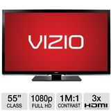 "Vizio M550VSE55"" 1080p 120Hz LED Smart HDTV RB"