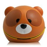 Backhomeday Magic Mini Lovely Bear Loudspeaker USB Portable Voice Box