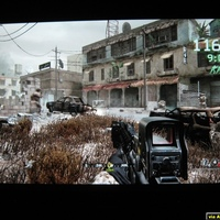 Sharp XV-Z12000 mkII / COD4 via Xbox 360