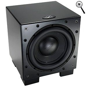 MartinLogan Dynamo 700 10-inch Wireless Ready Subwoofer (Single, Black)