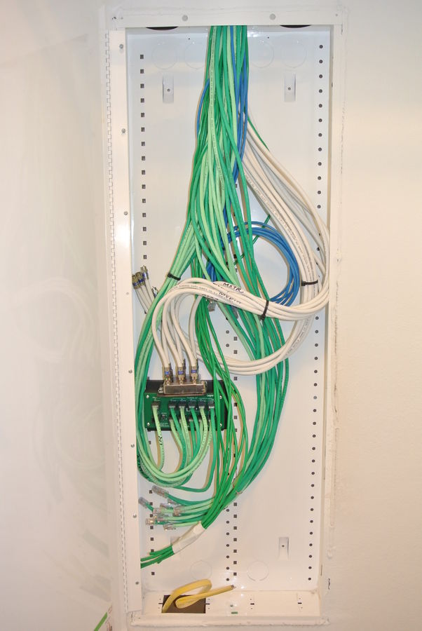 Phenomenal Directv Comcast Install Structured Wiring Cabinet Install Wiring Cloud Oideiuggs Outletorg