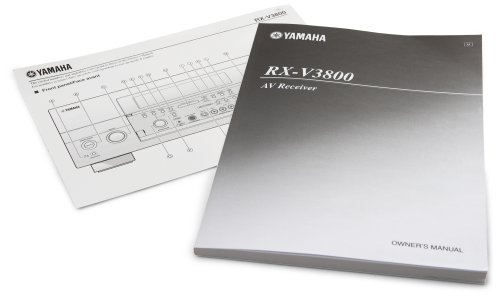 rx-v3800 owners manual