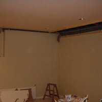 Other end of Conduit in Room