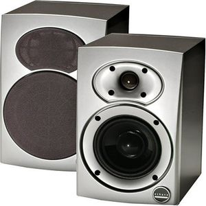 Athena S.5 Bookshelf Speaker- Single Unit (Silver/Black)