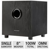 Pioneer Andrew Jones Designed Powered Subwoofer - SW-8MK2