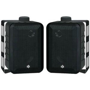 BIC America Indoor/Outdoor 3-Way Speakers