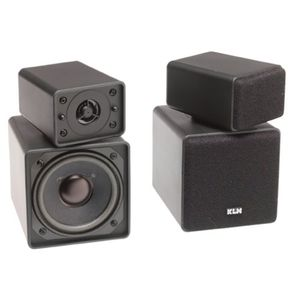 "KLH TW-09B ""Twistable"" Bookshelf Speakers"