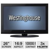 Westinghouse 26 inch LCD TV - CW26S3CW