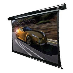 "CineTension2 Electric Tension Acoustically Transparent 92"" Projection Screen in Black Case"