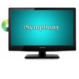 "iSymphony 19"" 720p 60Hz LED TV DVD Combo"
