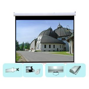 "70""x70"" Manual Projector Projection Screen 99"" Diagonal"