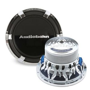 Audiobahn 12-Inch Dual 4 Ohm High Excursion Series Car Subwoofer (AW1200J)