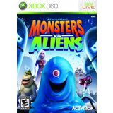 Monsters vs Aliens Xbox 360 Game Activision