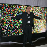 Vizio's 120-inch Reference Series was the biggest, most drool-worthy UHDTV at CES 2014