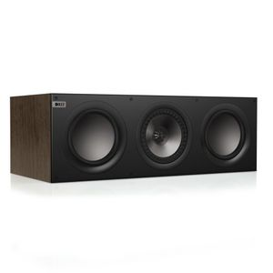 KEF Q600cWA Center Channel Speaker (Walnut)