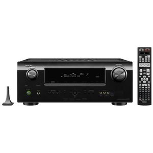 Denon DHT-591BA Home Theater System with Denon AV Receiver and Boston Acoustics 5.1 Speaker Package (Black)