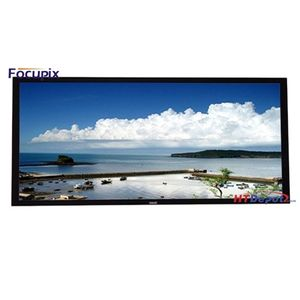 Focupix 2.35:1 Ultra-Widescreen Fixed Frame Matte White Screen - 130""
