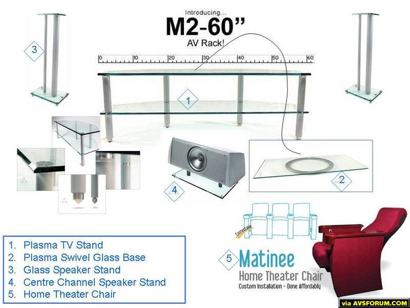 1. Plasma TV Stand