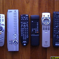 Sanyo XP21, Yamaha DSP A1, Denon DVD 1600, Rotel RCD 991, Pioneer LDP 919E , Sony Video Recorder.