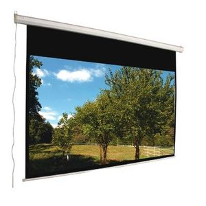 "92"" 16:9 Aspect Ratio Electric Screen in Matte White"