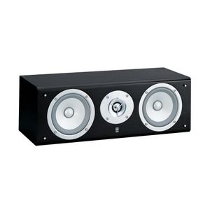 Yamaha NS-C525 Custom Series 2-Way Acoustic Suspension Center Channel Speaker, Black (Single)