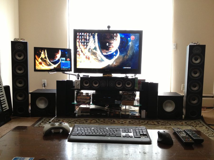 My home theatre entertainment system