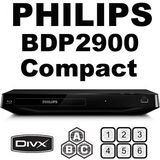 PHILIPS BDP2900 MultiZone All Region Blu Ray DVD Player
