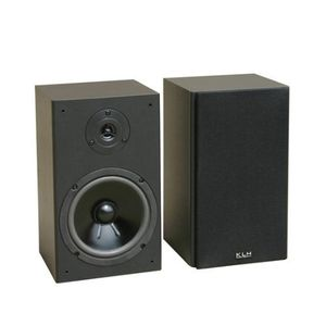 "KLH 6.5"" 2 Way Bookshelf 100 Watt Max Power BTF-220 Speakers"