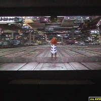 The Fifth Element (2.35 aspect ratio) DVD is the SuperBit version and has excellent depth of field even with an LCD projector.