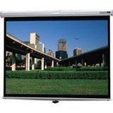 Da-Lite Deluxe Model B Manual Wall &amp; Ceiling Projection Screen, 52 inch x 92 inch, 106 inch Diagonal, Video Format, High Contrast Matte White Surface
