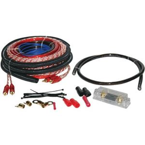 New- SOUNDQUEST SQK4ANL SOUNDQUESTTM COPPER-CLAD ALUMINUM AMPLIFIER WIRING KIT (4 GAUGE)