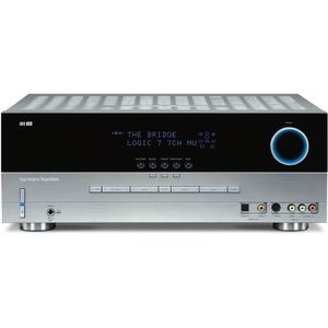 Harman Kardon AVR 340 7.1-Channel A/V Receiver, Silver