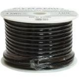 PYRAMID 10 Gauge Black Ground Wire 100 ft. OFC