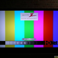 This is the HDNet Test pattern 1 going through the iscan HD+ to minimize overscan.