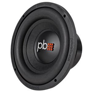 "Brand New Powerbass S-104D 10"" 550 Watt Car Subwoofer with 2"" BASV Voice Coil Formers and Dual 4-ohm Voice Coils"