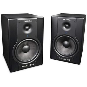 "M-Audio BX8 D2 8"" 130 Watt Powered Studio Monitors"