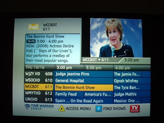 Kansas City Time Warner Cable Channels