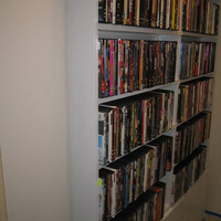 DVD Storage Room or DVD Rack